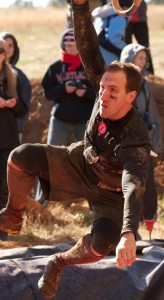 Nathan Nowak competing at the 2012 Tough Mudder