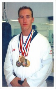 Nathan Nowak tae kwon do champion fittest male of the year and coach of the year