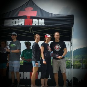 Team Podium takes 3rd Place at Chattanooga Ironman 70.3