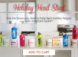Trinity Fitness and Advocare Spark will help you with fitness, nutrition and empowerment throughout the holiday season